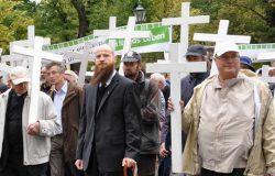 Mahnwache an der Bibliothek des Konservatismus, 16.09.2016
