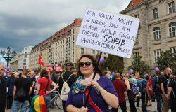Kundgebung am Wittenbergplatz, 10.09.2016