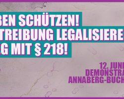 Aufruf: Schweigemarsch stoppen in Annaberg-Buchholz am 12. Juni 2017
