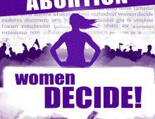 Aufruf: Internationaler Aktionstag für die Entkriminalisierung des Schwangerschaftsabbruchs (28.9.)