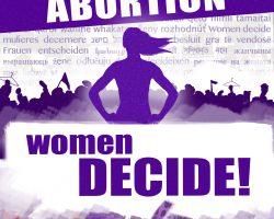 Pressemitteilung: Internationaler Tag für die Entkriminalisierung des Schwangerschaftsabbruchs