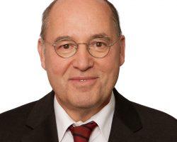 Unterstützer Gregor Gysi