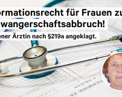 Petition für die Streichung des §219a StGB – Jetzt unterschreiben!