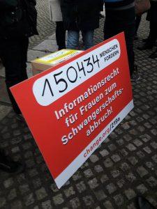 Weg mit § 219a: Stimmen aus dem Bündnis für sexuelle Selbstbestimmung