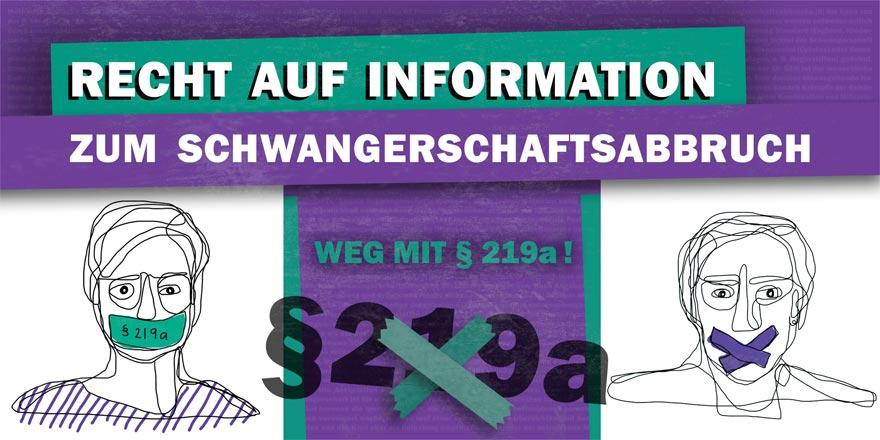 Hier findet ihr alle Informationen zu unserer E-Mail-Aktion an die FDP: Keine faulen Kompromisse beim Informationsrecht für ungewollt Schwangere! Weg mit §219a.