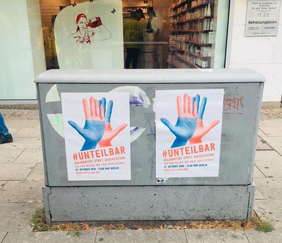 Aufruf #unteilbar (13.10.2018)
