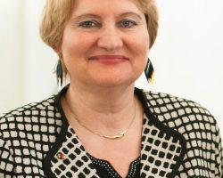 Unterstützerin Christa Stolle