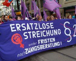 Pressemitteilung: Schwangerschaftsabbruch raus aus dem Strafgesetzbuch!