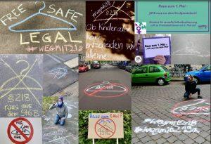 Raus zum 1. Mai – §218 raus aus dem Strafgesetzbuch! Maiprotest digital für sexuelle Selbstbestimmung