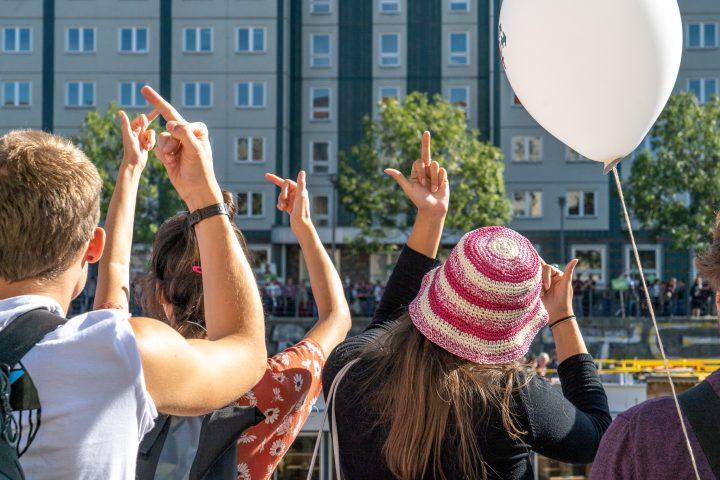 Solidaritätsbekundung Kristina Hänel