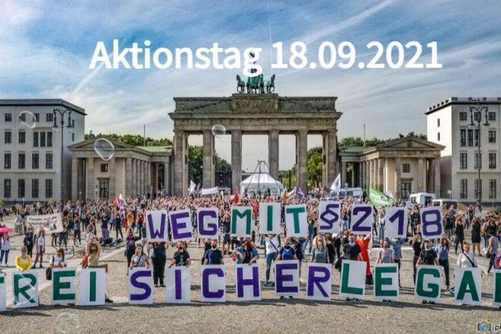 Aktionstag am 18.09.2021